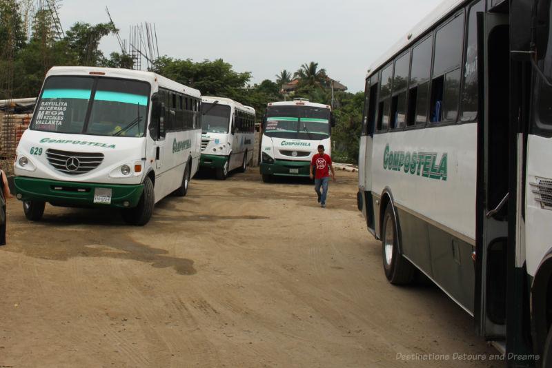 Sayulita bus lot