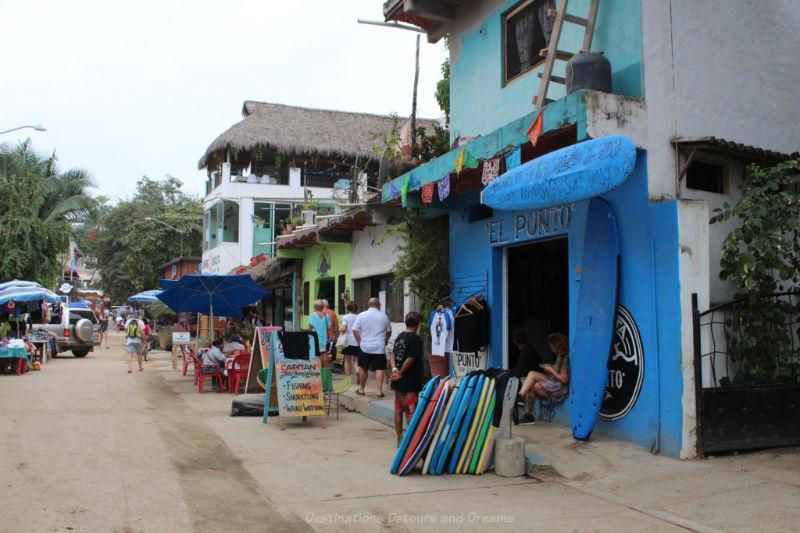 Street in Sayulita, Mexico