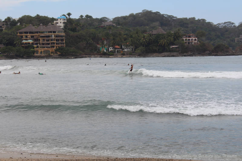 Surfing at Sayulita