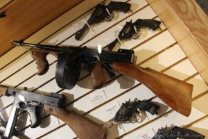 """Tommy gun"" amid collection of guns at Winnipeg Police Museum"