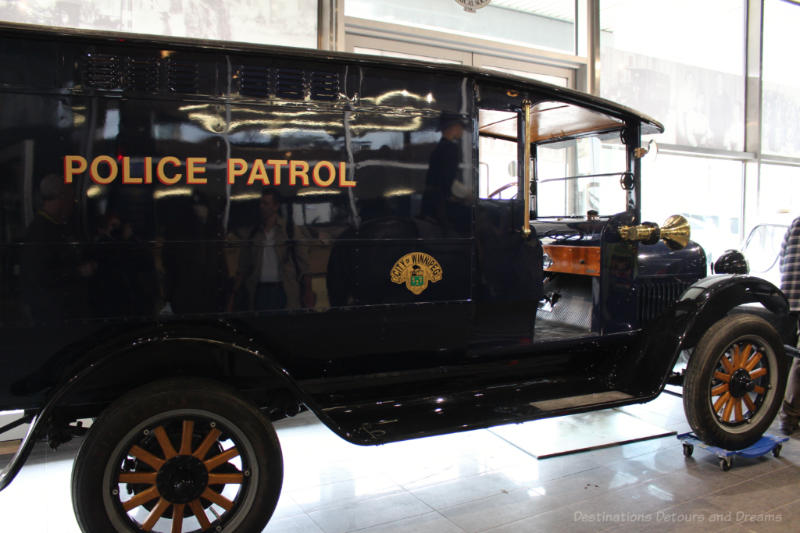 REO Speedwagon Patrol at Winnipeg Police Museum