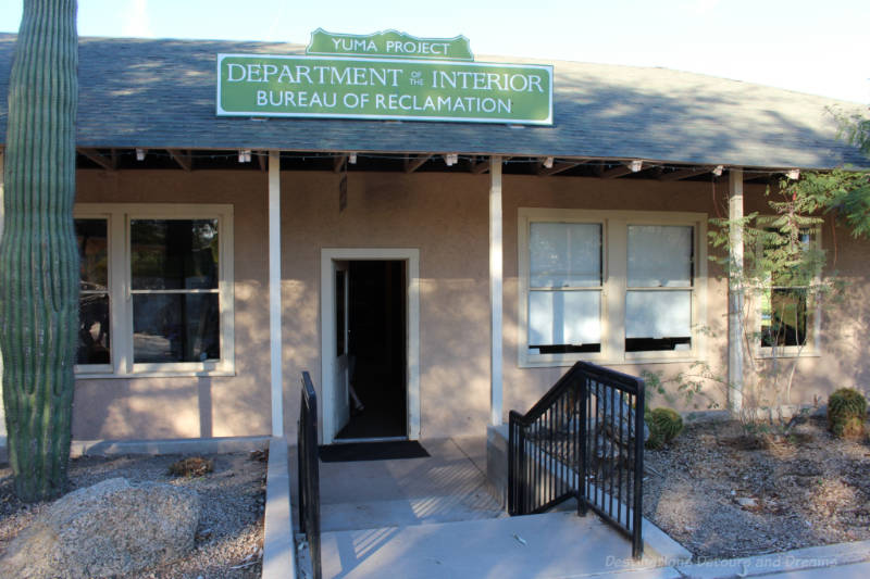 Corral House at Colorado River State Historic Park in Yuma, Arizona