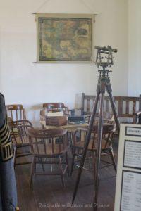 Inside the Quartermaster's Office at Yuma Quartermaster Depot