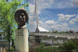 Discovering Louis Riel in Winnipeg Canada