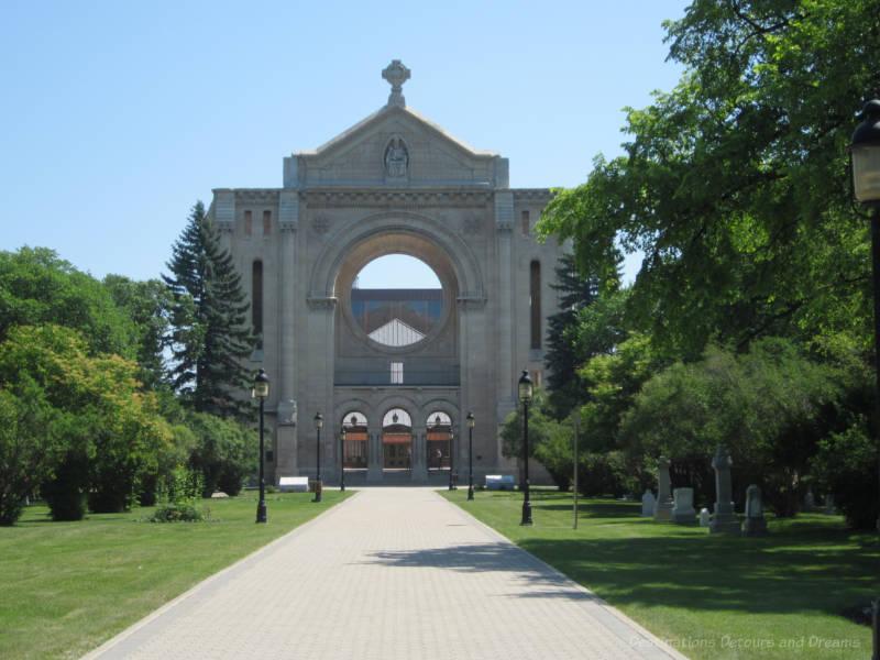 St. Boniface Cathedral, Winnipeg, Manitoba, Canada