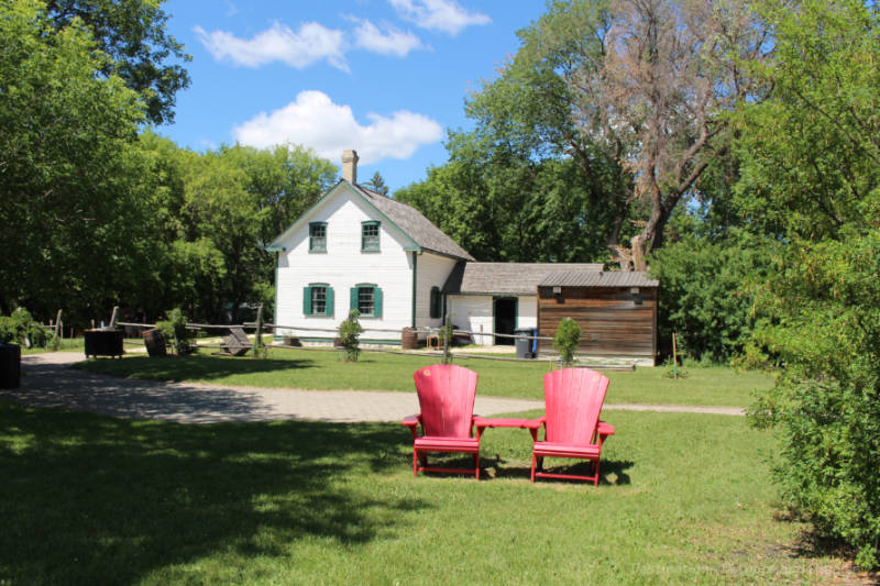 Riel House, Winnipeg, Manitoba, Canada