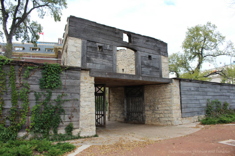 Upper Fort Garry gate, Winnipeg, Manitoba
