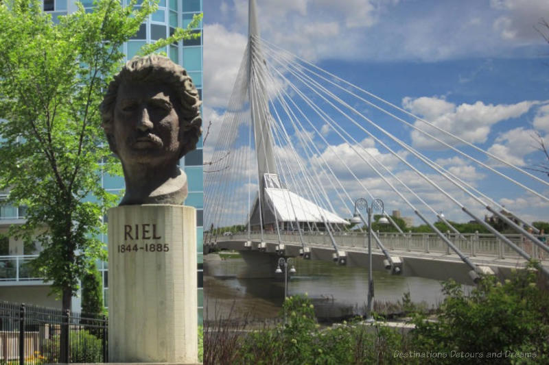 Discovering Louis Riel in Winnipeg Canada