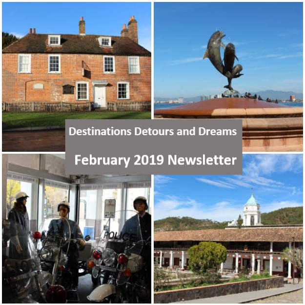 Destinations Detours and Dreams February 2019 Newsletter
