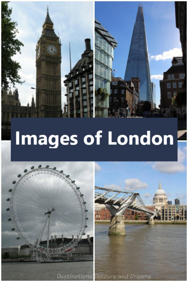 Images of London: Old and New Icons #London #England