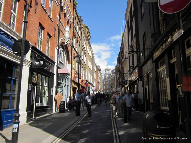London pedestrian street