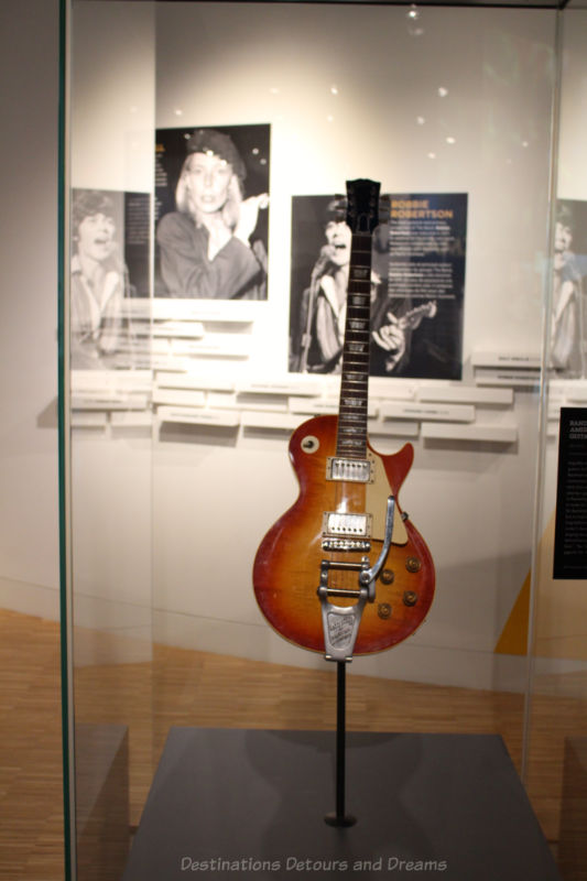 Randy Bachman's Gibson Les Paul guitar