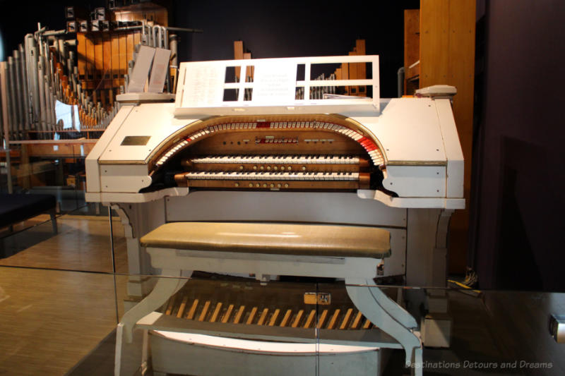 Kimball theatre organ at Studio Bell National Music Centre