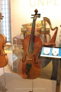 Natalie MacMaster's first fiddle