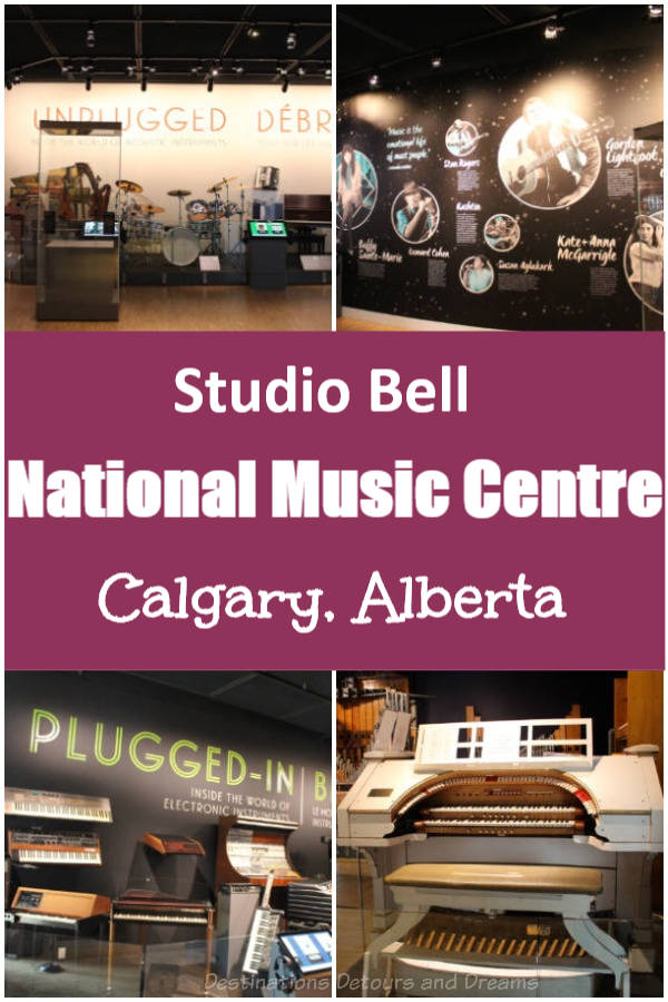 Music Lives at Studio Bell, home of the National Music Centre - museum and much more. #Calgary #Alberta #music #Canada #museum