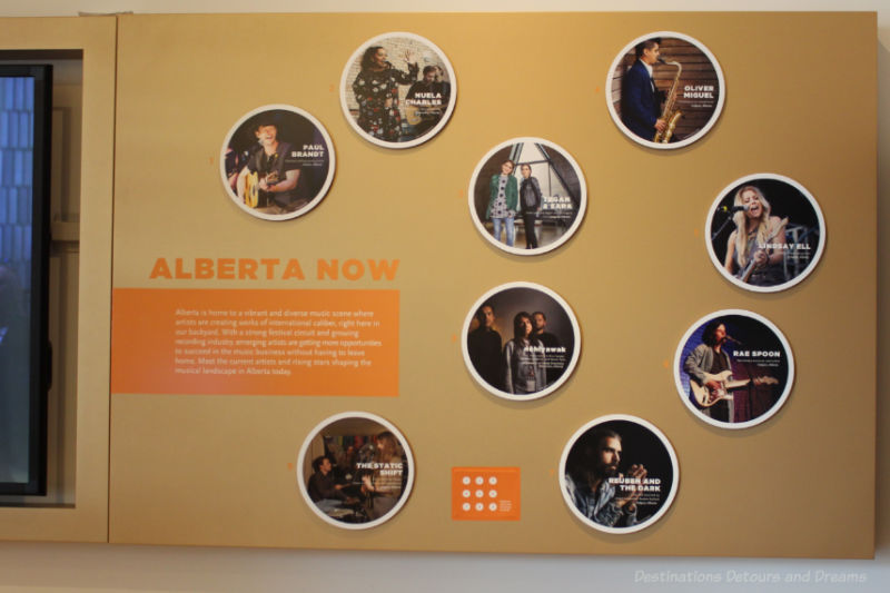 Trailblazers exhibit at National Music Centre
