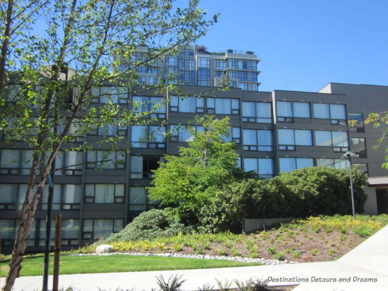 Gage Apartments at University of British Columbia, an affordable option to hotels in Vancouver