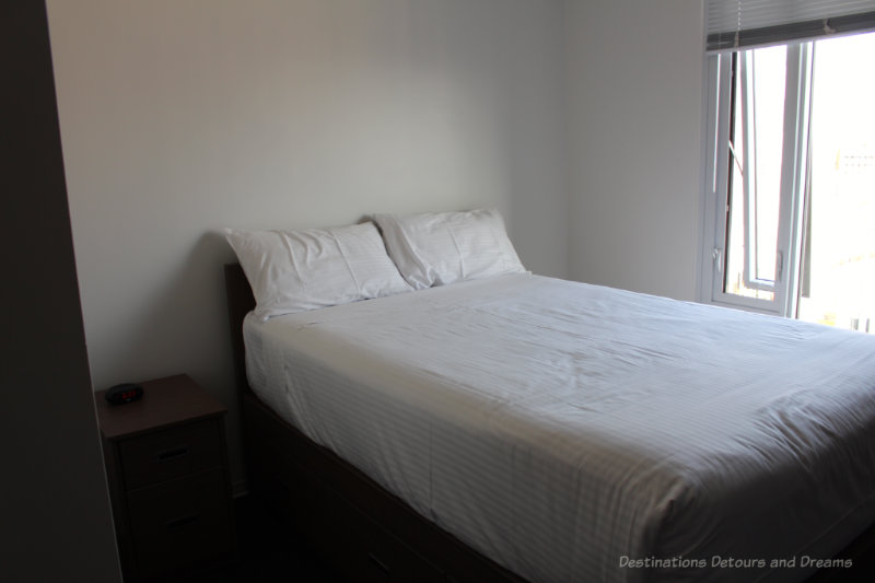 Ponderosa Apartments suite at University of British Columbia, an affordable option to hotels in Vancouver