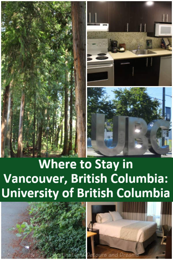 Where to stay in Vancouver, British Columbia: Accommodations at University of British Columbia on its beautiful campus offer an affordable option to hotels in Vancouver, British Columbia #Canada #Vancouver #BritishColumbia #accommodations