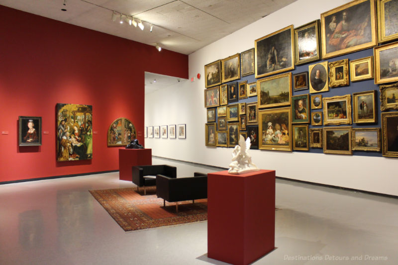 Gallery in the Salon Style exhibition by the Winnipeg Art Gallery