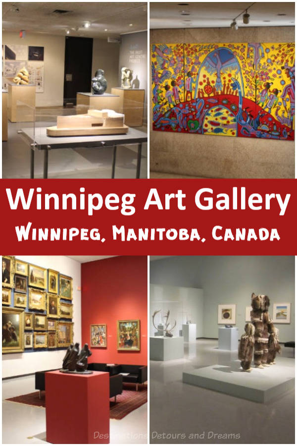 The internationally-recognized Winnipeg Art Gallery is Canada's sixth largest gallery and holds the largest collection of Inuit art #Winnipeg #art