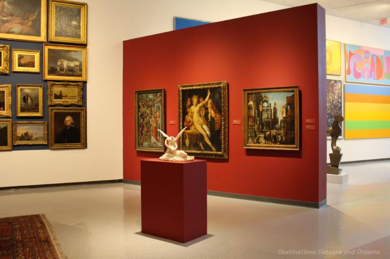 Gallery room at the Winnipeg Art Gallery in Winnipeg, Manitoba, Canada