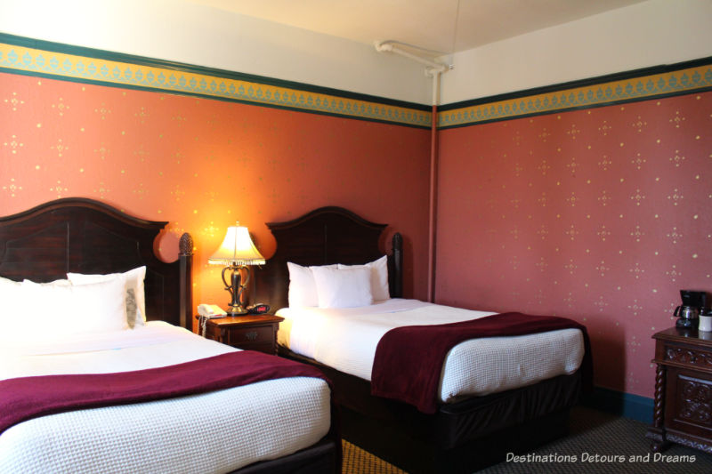 Double/double room at Crescent Hotel
