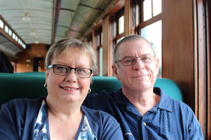 Donna and Rick of Destinations Detours and Dreams