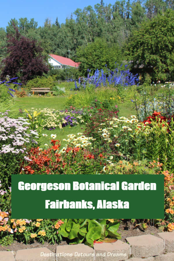 Georgeson Botanical Garden in Fairbanks, Alaska #Alaska #Fairbanks #garden