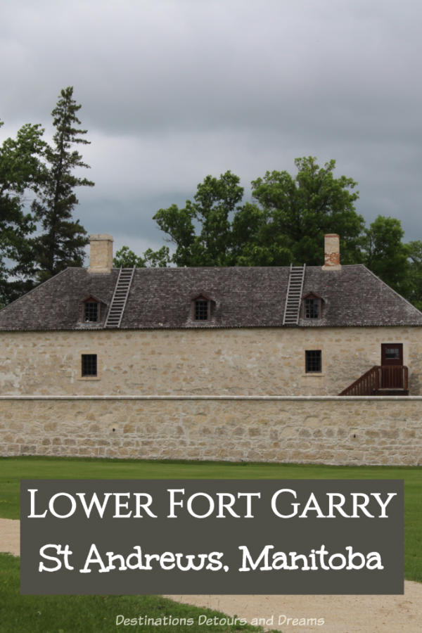 The restored Lower Fort Garry National Historic Site, near Winnipeg, Manitoba, recreates life in the 1850s fur-trade era. #Manitoba #Winnipeg #museum #NationalHistoricSite #Canada
