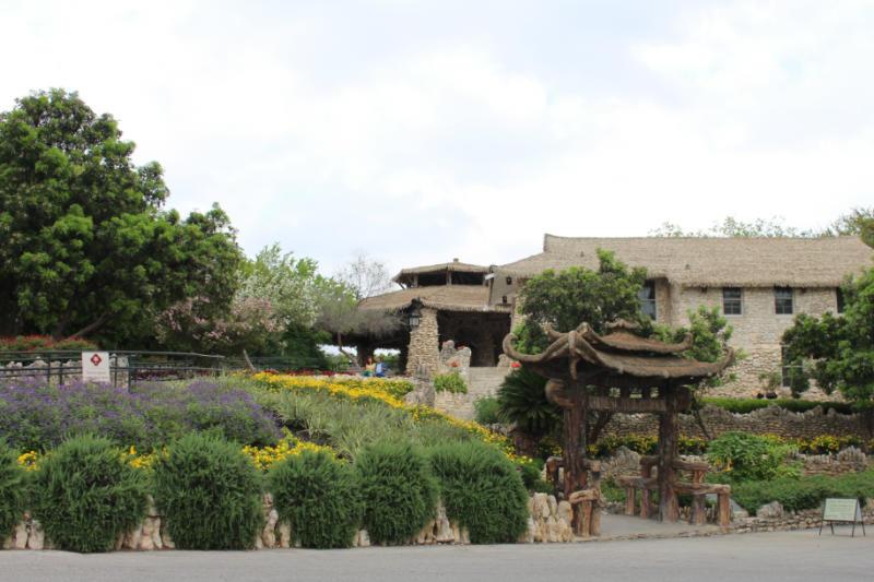 Entrance to San Antonio Japanese Tea Garden