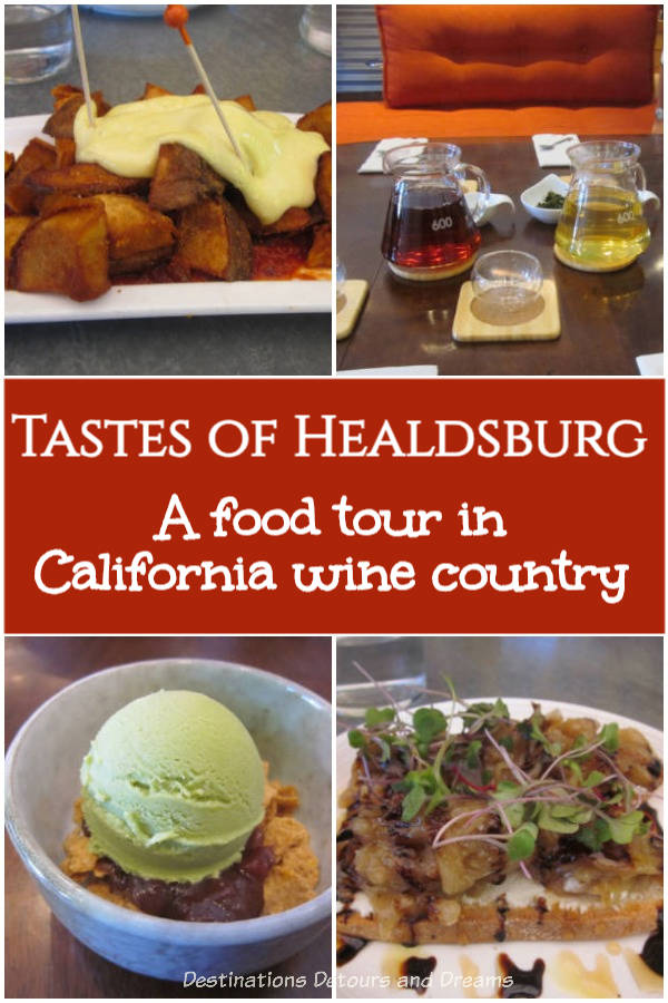 Savouring the cuisine of Sonoma wine country on a gourmet food tour with Savor Healdsburg. #foodtour #California #Healdsburg #Sonoma
