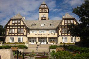 Mock Tudor Assiniboine Park Pavilion building