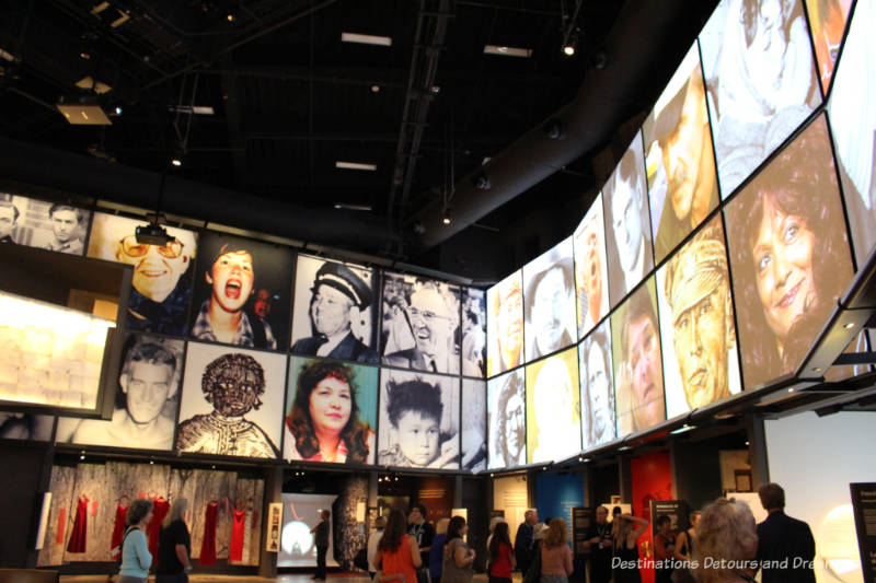Canadian Journeys Gallery at Canadian Museum for Human Rights