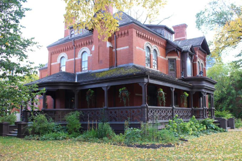 Dalnavert House Museum in Winnipeg, Manitoba
