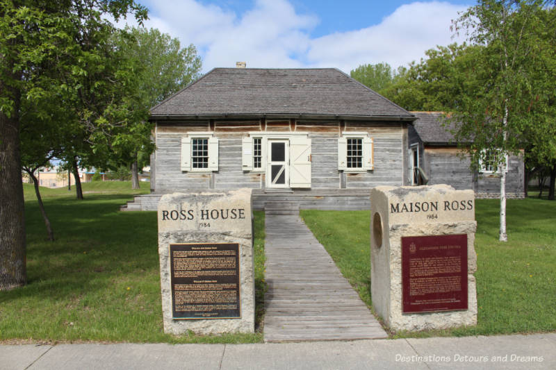 Ross House Museum in Winnipeg, Manitoba