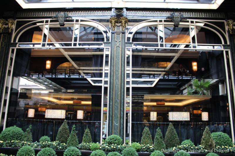 Savoy Hotel window