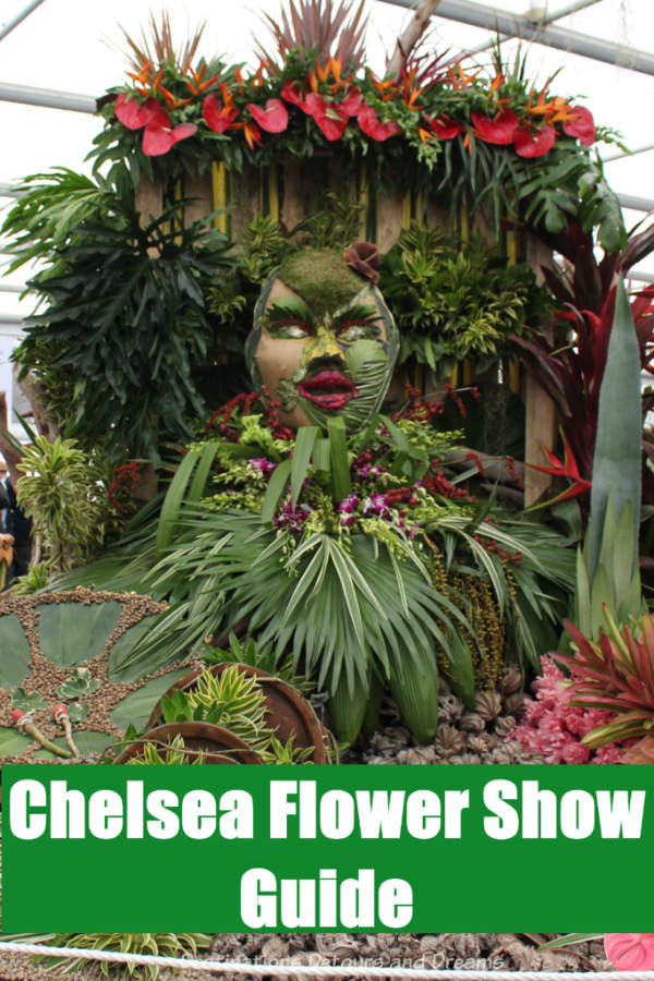 About the Chelsea Flower Show and what you need to know to visit the renowned show in London, England along with highlights of the 2019 show. #London #ChelseaFlowerShow #England #Chelsea #garden