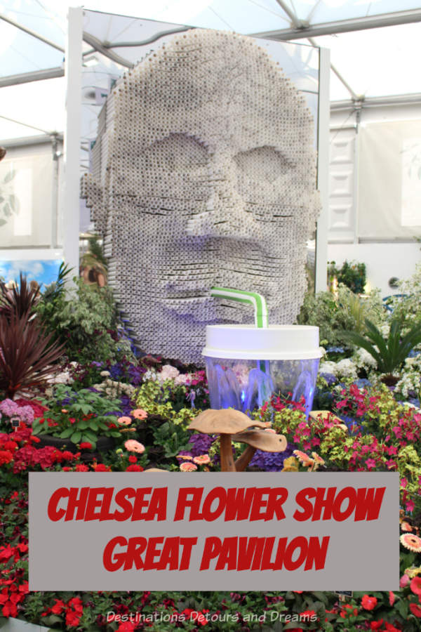 Photographs from the 2019 Chelsea Flower in London, England, highlight what to expect inside the Great Pavilion #ChelseaFlowerShow #London #England #garden