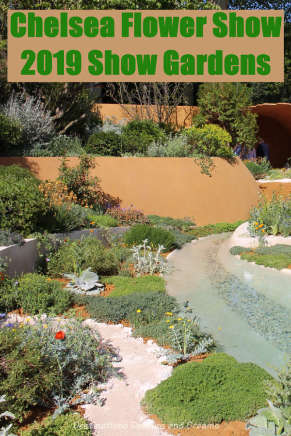 About the Show Gardens at the 2019 Chelsea Flower Show in London, England #ChelseaFlowerShow #London #England #garden