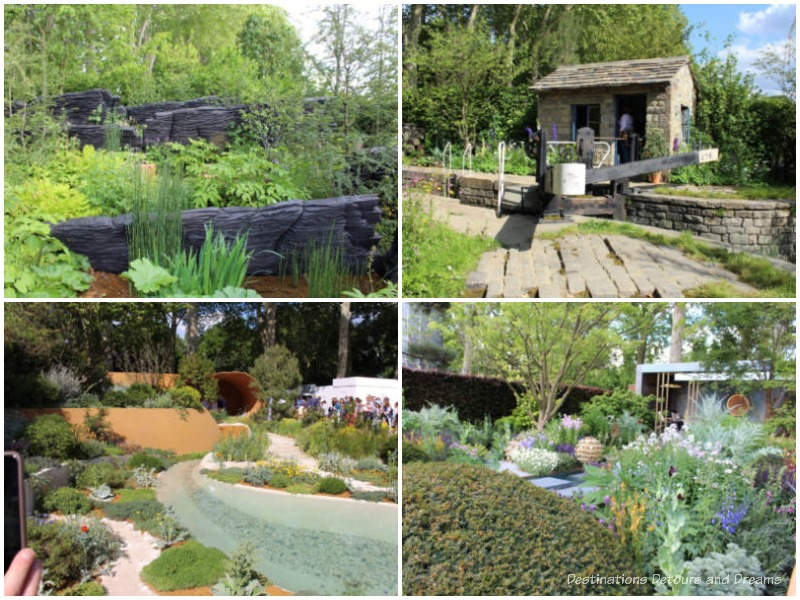 A sampling of show gardens from the 2019 Chelsea Flower Show