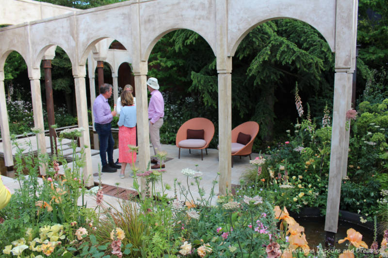 Wedgwood Show Garden at the 2019 Chelsea Flower Show