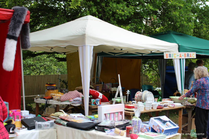 Bric-a-Brac Stall at an English Village Fête