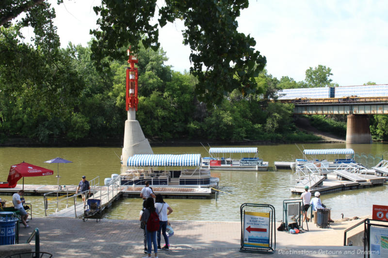 Dock at The Forks