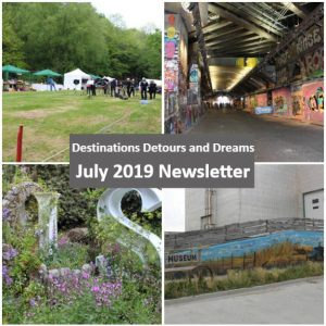 Destinations Detours and Dreams July 2019 Newsletter