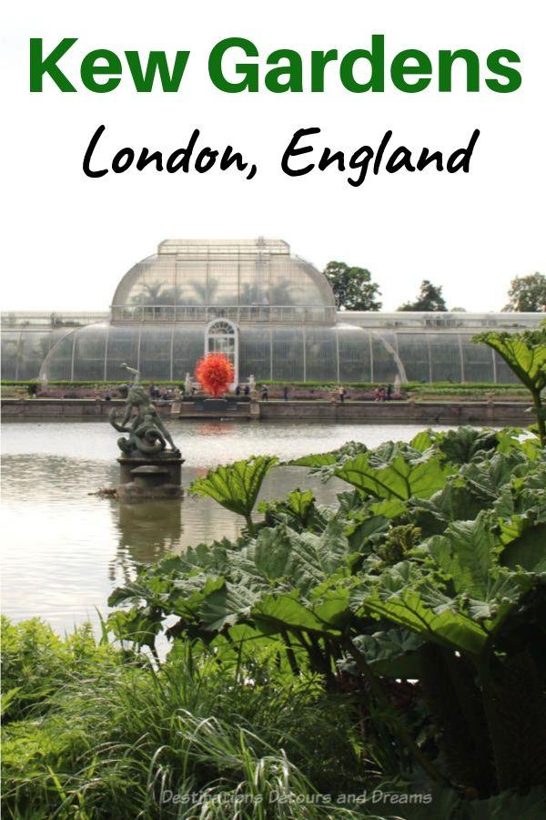 Kew Gardens in Richmond, London, England  #London #England #Kew #garden