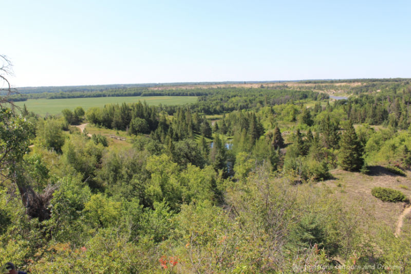 Landscape around Spirit Sands, Manitoba