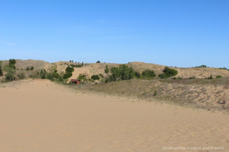 The sand dunes of Spirit Sands, Manitoba