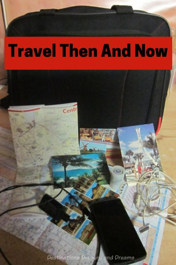 Travel then and now - The many ways travel has changed in the last 30 to 40 years #travel #technology