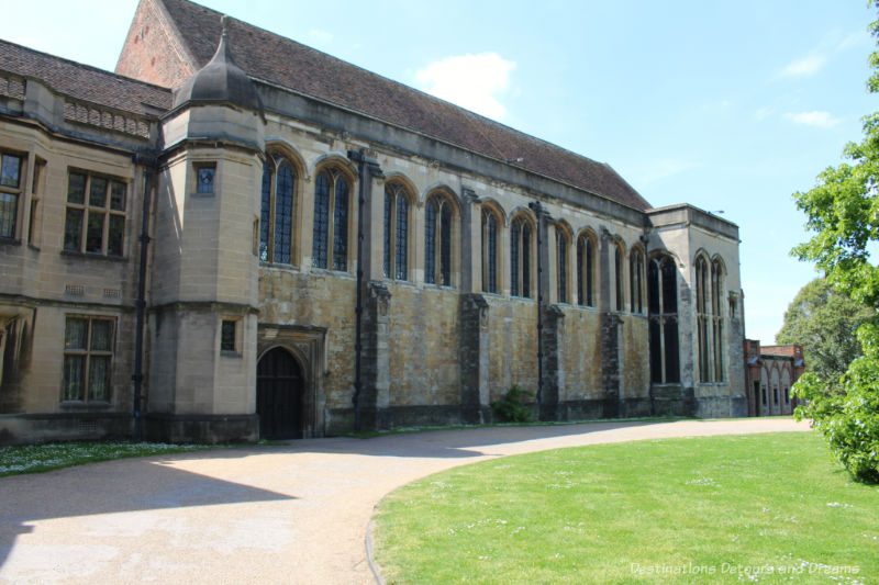 Medieval brick building - Great Hall at Eltham Palace
